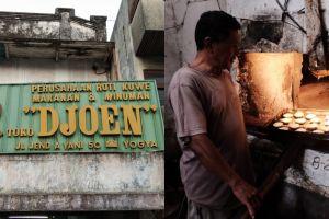 Blusukan ke dapur Roti Djoen, roti legendarisnya kota Jogja