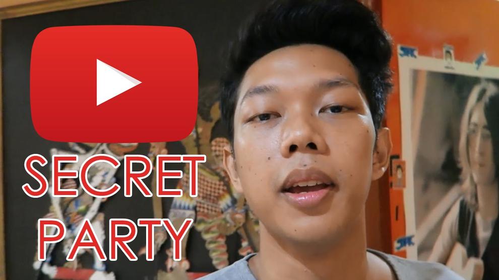 Video Pesta Rahasia Bayu Skak dan Para Creators Indonesia