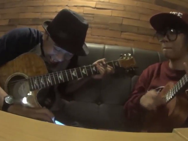 Cover Seru I Will - The Beatles, Pakai Gitar dan Ukulele © Youtube