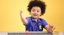Reaksi Anak Kecil Saat Nyobain Bola Bekel Untuk Pertama Kalinya