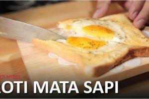 Bosan sarapan itu-itu saja? Roti sandwich ala resto ini bisa kamu coba