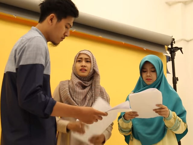 Serunya Casting Pemain Web Series 'Hijab Love Story' © Youtube