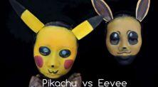 2 Cewek Ini Ubah Wajahnya Jadi Karakter Pokemon