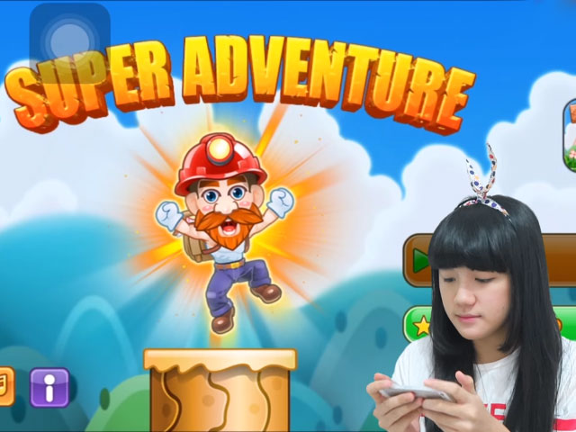 Cindy Gulla main game Super Mario di iOS © 2016 famous.id