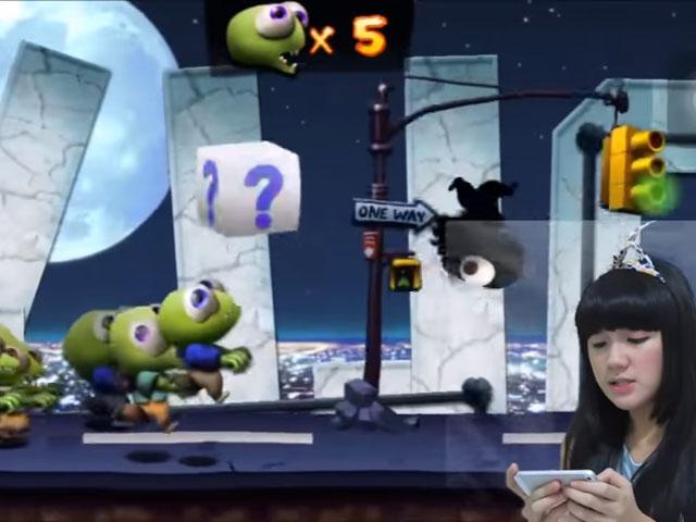 Cindy Gulla main game Zombie Tsunami © 2016 famous.id