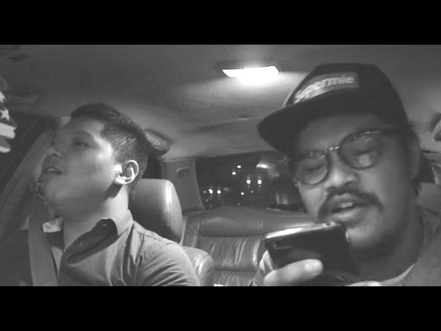 fiqi Jacub ajak Qorygore carpool karaoke © 2016 famous.id