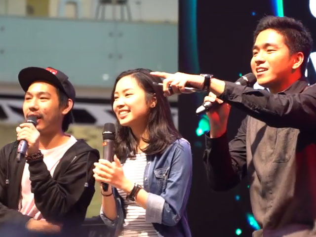 Kevin Hendrawan tampil di YouTube FanFest Indonesia 2016 © 2016 famous.id