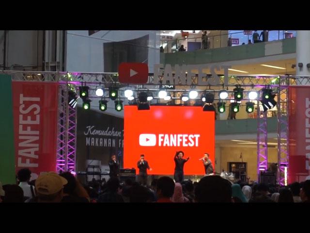 Nonton YouTube FanFest Indonesia bareng KasuRusak © 2016 famous.id