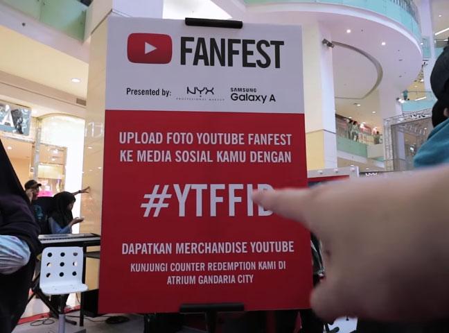 Steven Tan di acara YouTube FanFest Indonesia 2016 © 2016 famous.id