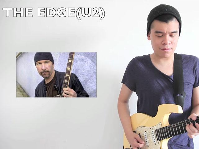 YouTube Anthem Indonesia Dalam 15 Gaya Gitaris Handal Dunia versi Raguel Lewi © 2016 famous.id