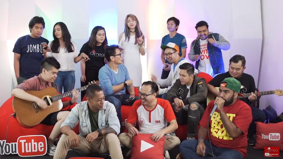 YouTube Anthem, Curahan Hati Para Kreator Video Indonesia © 2016 famous.id
