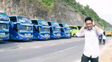 Girang Banget! Yudist Ardhana Coba Langsung Klakson Bus Telolet
