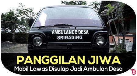 Pria ini ubah mobil pribadi jadi ambulan demi menolong warga sekitar