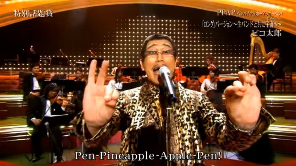 Pikotaro Menampilkan PPAP Versi Orkestra di Acara Tahun Baru Jepang