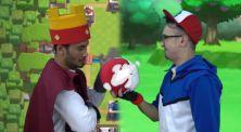 Rap Battle Edho Zell VS J FLow Dengan Tema Games