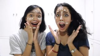 Nessie Judge dan Fathia Izzati Adu Menebak Wajah YouTubers Indonesia