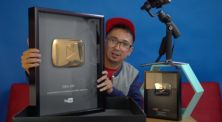 Edho Zell Unboxing Gold Play Button!