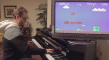 'Live Cover' Soundtrack Mario Bross Pakai Piano