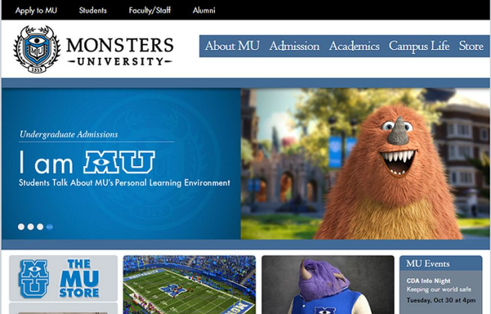 monster university bbc.uk