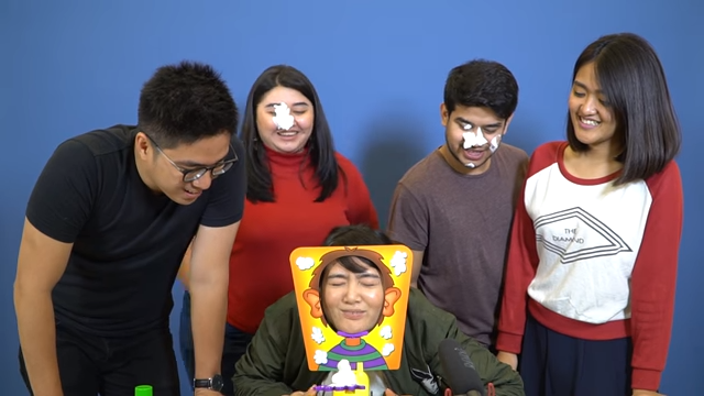 Pie face Challenge Kevin Hendrawan Youtube Channel