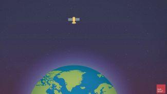 Ini Dia Cara Satelit Bisa Melayang di Langit