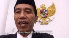 Sambil Makan Siang, Presiden Jokowi Bikin 'Collab' Bareng Raja Arab