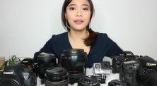 """Melody Amadea Kasih Tahu Kamera dan Lensa yang Jadi """"Senjatanya"""""""