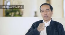 Eka Gustiwana Bikin Presiden Jokowi Nyanyi Tentang Musik Favoritnya