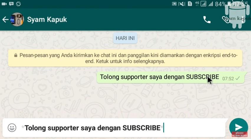 Syam Kapuk Android Tutorial © Syam Kapuk Android Tutorial