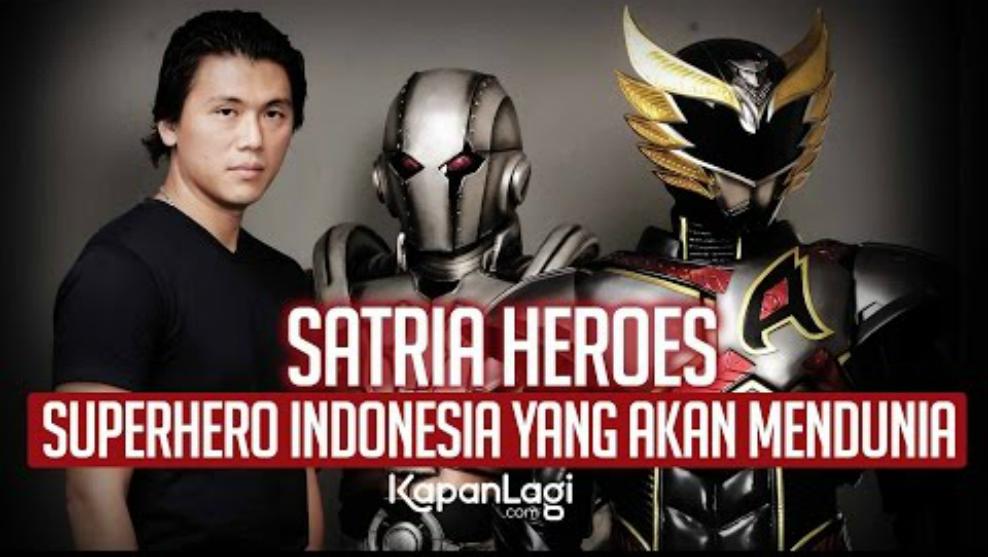 "Reino Barack Ingin Membuat Film ""Satria Heroes"" Go International!"