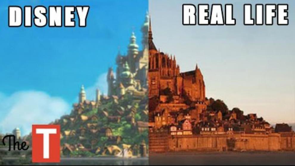 10 Lokasi Film Disney yang Ada di Kehidupan Nyata!