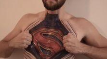 Keren! 5 Gambar Superhero di Tubuh Manusia Ini Terlihat Nyata