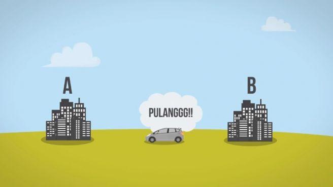 VIDEO: Kenapa Perjalanan Pulang Selalu Lebih Cepat? Ini Jawabannya
