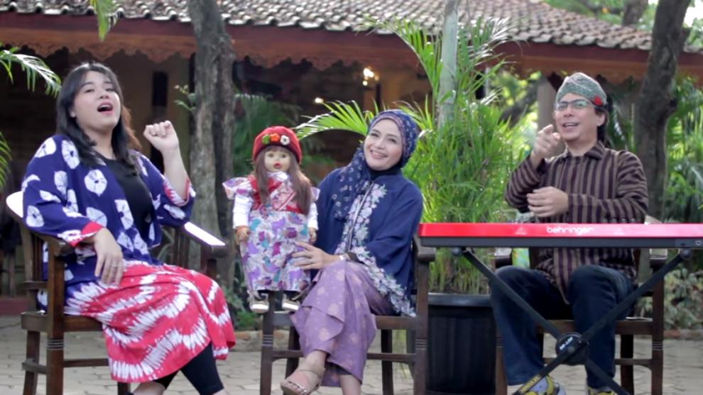"""Serial """"Nyanyi Bareng"""", Bedah Lagu Anak Bareng Natasha Chairani"""