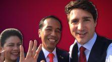 Ngevlog Bareng, Justin Trudeau Sapa Warga Indonesia Bersama Pak Jokowi