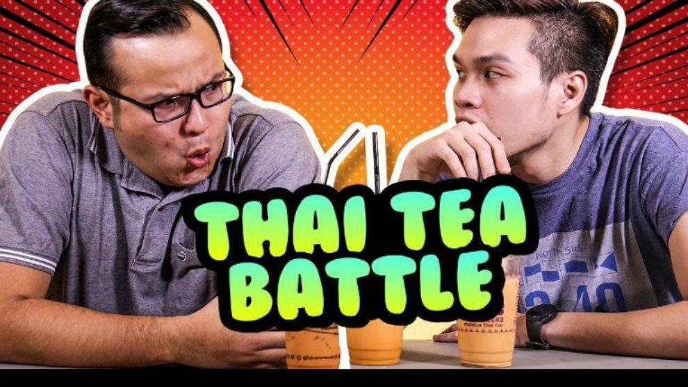Cobain Thai Tea Hits di Jakarta Bareng KokikuTV!