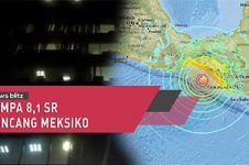 Gempa 8,1 SR guncang Meksiko