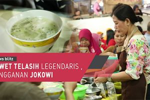 Dawet legendaris langganan Presiden Jokowi