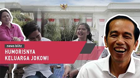 Humorisnya keluarga Jokowi