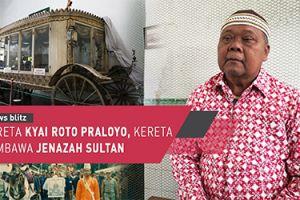 Kereta Kyai Roto Praloyo, kereta pembawa jenazah Sultan