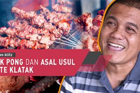 Lezatnya Sate Klatak di warung Pak Pong dan asal usul menu Sate Klatak
