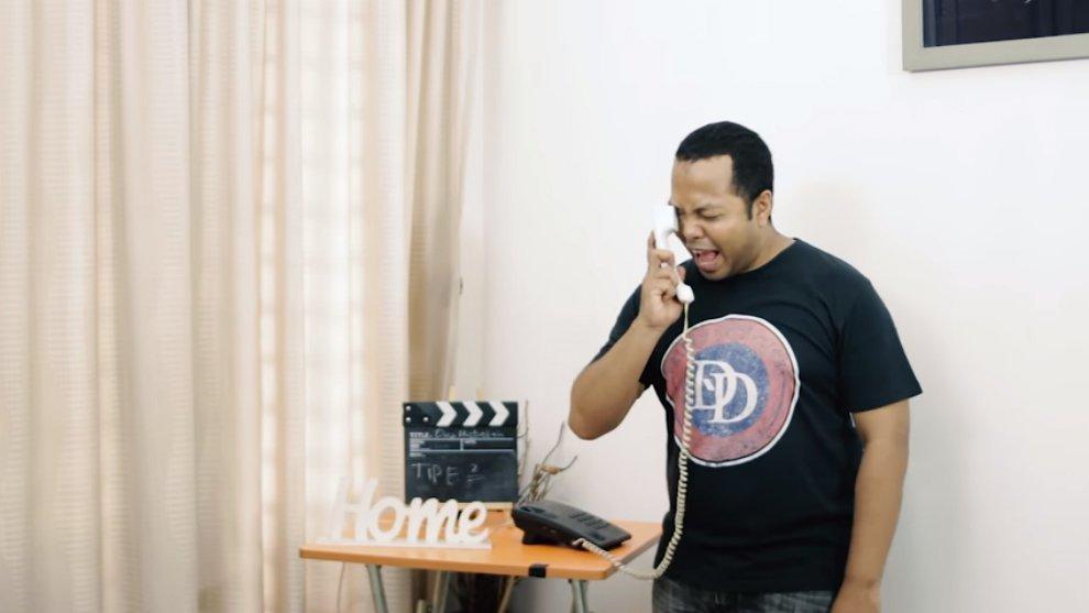 Video Komedi: Tipe-Tipe Orang Ketika Mengangkat Telepon