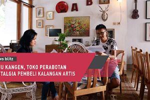 Temu Kangen, toko perabotan nostalgia pembeli kalangan artis