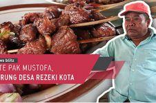 Sate Pak Mustofa, warung desa rezeki kota
