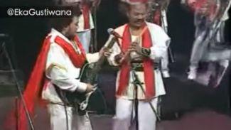 Eka Gustiwana Bikin Kolaborasi Unik Metallica Feat Rhoma Irama
