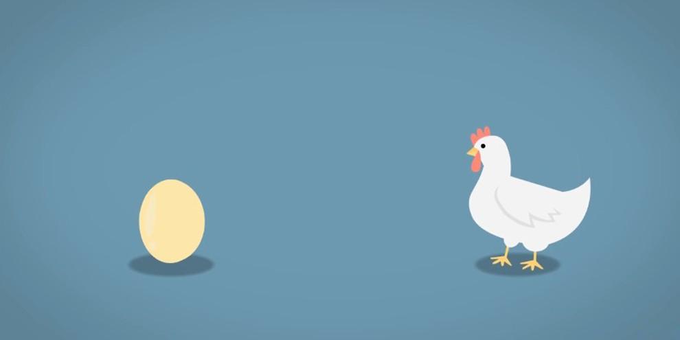 VIDEO: Mana yang Lebih Duluan Muncul, Ayam Atau Telur? © 2017 famous.id