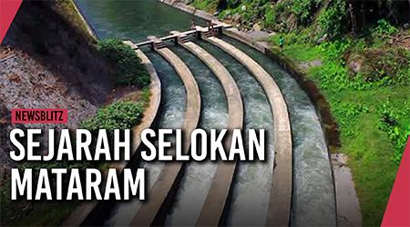 Ini asal usul dan sejarah Selokan Mataram