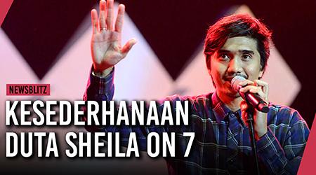 Kesederhanaan Duta, vokalis Sheila On 7