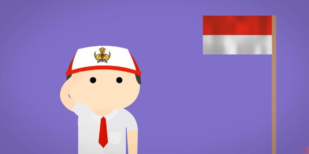 VIDEO: Kenapa Bendera Indonesia Berwarna Merah dan Putih? © 2017 famous.id