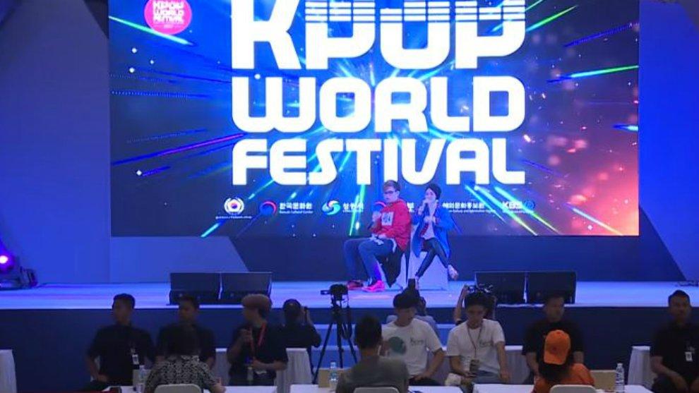 Preliminary Winners of 2017 K-POP World Festival  Tiffani Afifa & Alphiandi (Indonesia) kbs world tv ©kbs world tv